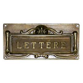 Feritoie per lettere
