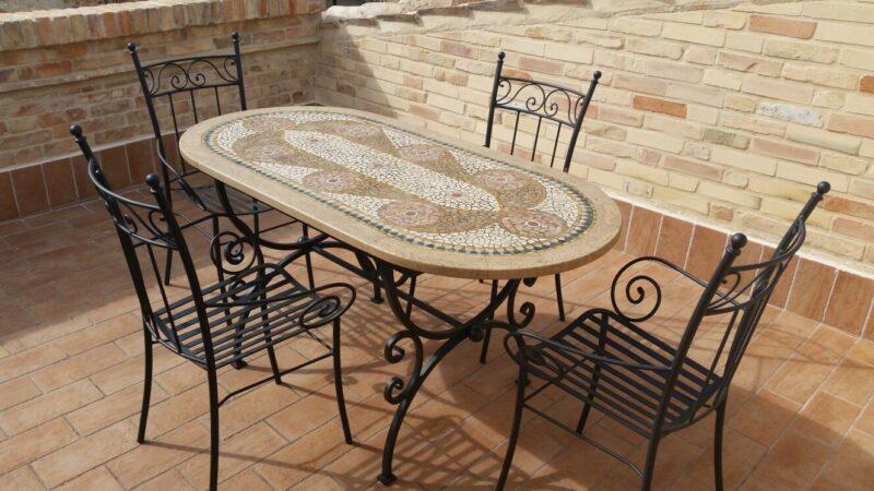 Base in ferro per tavolo modello Giacinto
