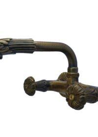 Gruppo lavello in ottone brunito RO-221