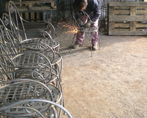 Produzione di articoli in ferro battuto