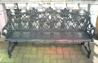 Panchina Floreale 3 posti