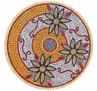 Piano in mosaico B5004C