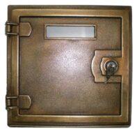 Sportello con serratura