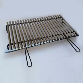 Graticola in acciaio inox A6 cm 80x50