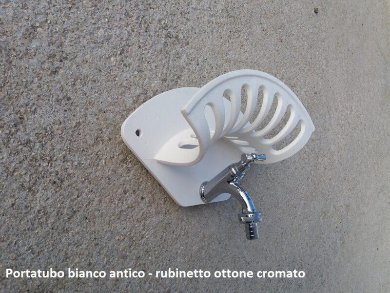 Porta tubo da muro in alluminio
