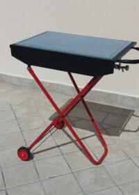 Barbecue con pietra lavica 60×40 cm