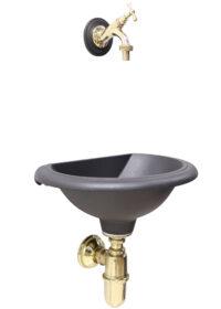 """Fontana """"B"""" mod.Olbia con rubinetto cod.303L e sifone"""